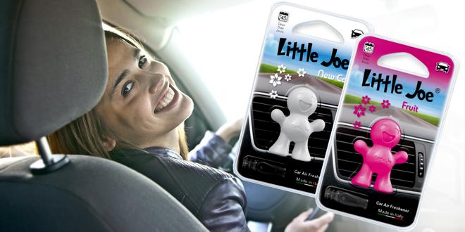 3D vonítka do auta Little Joe v pěti vůních