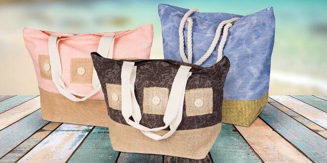 Dámské veselé plážové tašky