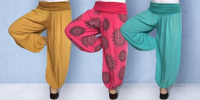 Velký výběr dámských harémových kalhot