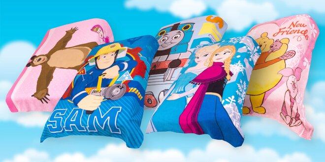 Dětské fleecové deky s oblíbenými hrdiny