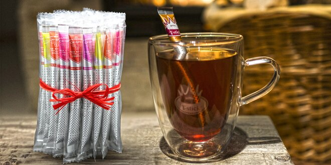 Originální lahodné sypané čaje Royal T-Stick