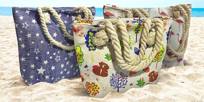 Dámské a dětské plážové tašky
