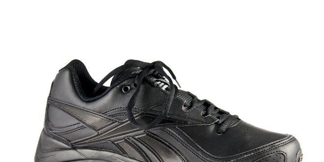 24253a46e64 Černé kožené tenisky Reebok Ultimate Walk