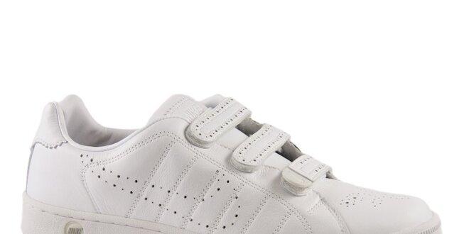 Bílé perforované kožené tenisky Nike  52206d8cb6f