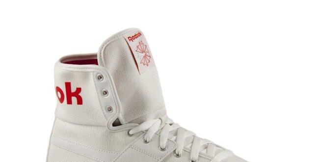 722ead3a936 Bílé unisexové kotníkové tenisky Reebok