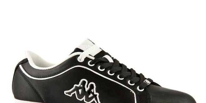 Dámské černé tenisky Kappa Lady Sleek Satin  4e9ed21fce