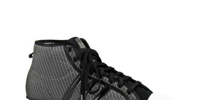 Dámské šedo-stříbrné kotníkové tenisky Adidas Originals  6f35b7b563