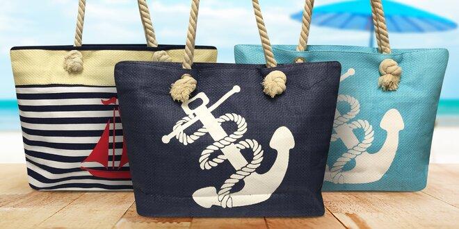 Dámské letní tašky v námořnickém stylu