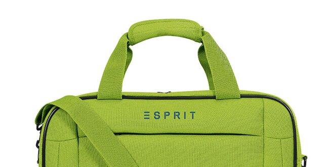 Dámská zelená taštička do letadla Esprit