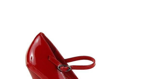 a984d4de857 Dámské červené lodičky na ultra vysokém podpatku Steve Madden ...
