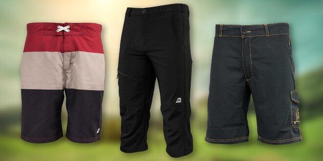 6249563ecbf Pánské 3 4 kalhoty a šortky Alpine Pro