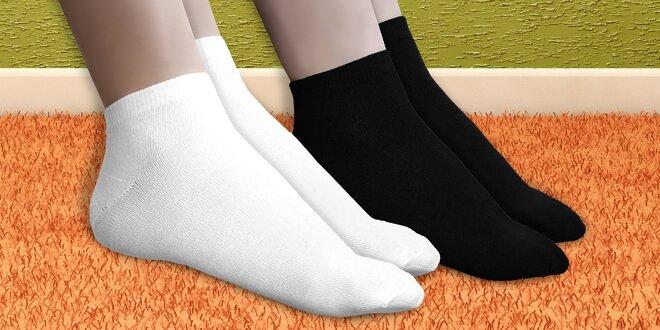 15 párů pohodlných bambusových ponožek