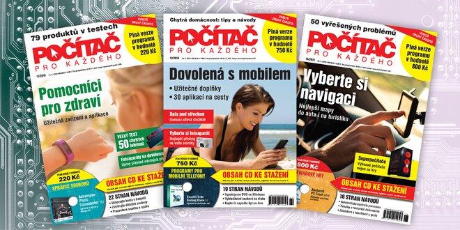 Roční předplatné časopisu Počítač pro každého  9851b3223a