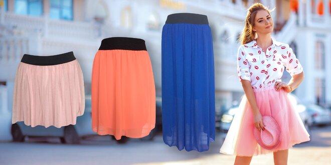 Inspirujte se baletkami: Dámské tutu sukně