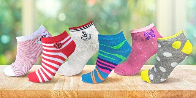 742c3565d2a Barevné bambusové ponožky pro dámy