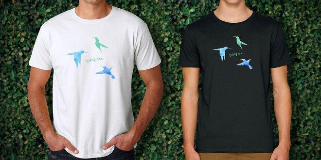 eee52e41711 Podpořte ohrožené děti z center Klokánek koupí designového pánského trička