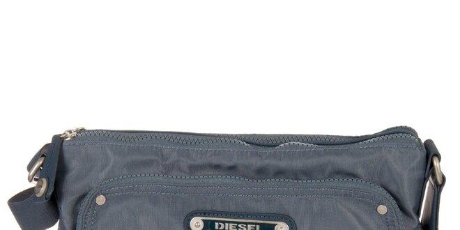 Modrá obdélníková taška Diesel