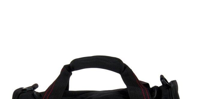 Velká černá sportovní taška Diesel