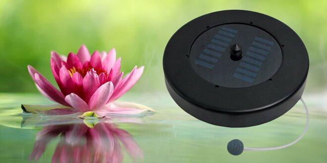 Solární provzdušňovač pro jezírka a rybníčky
