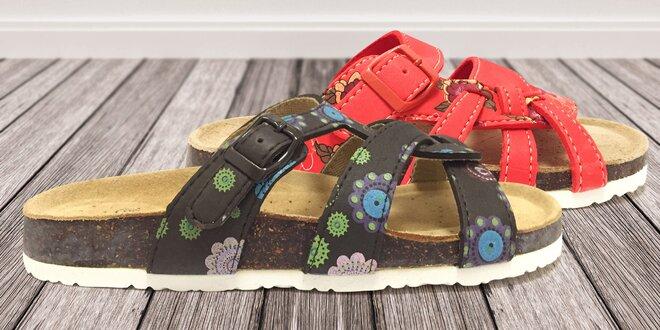 Pohodlné dámské pantofle Samlux