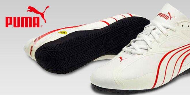 Stylové pánské boty Puma se znakem Ferrari  18f7eebc837