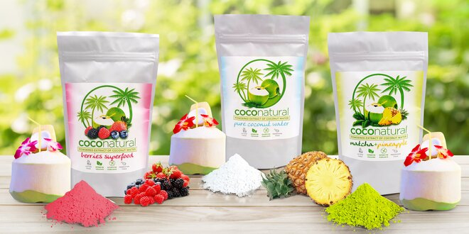 Instantní kokosová voda Coconatural