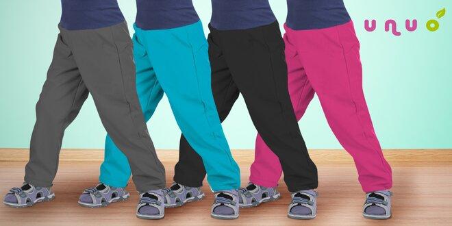 Voděodolné batolecí softshellové kalhoty Unuo
