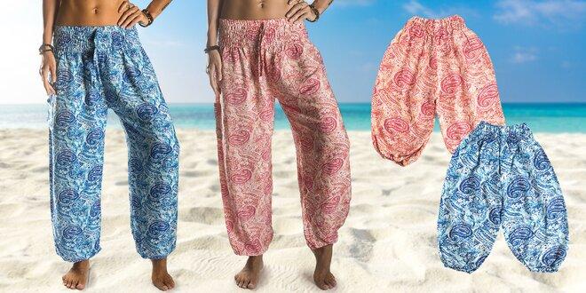 b73566ef1ec Sety superpohodlných kalhot z Bali pro vás a vaše dítko