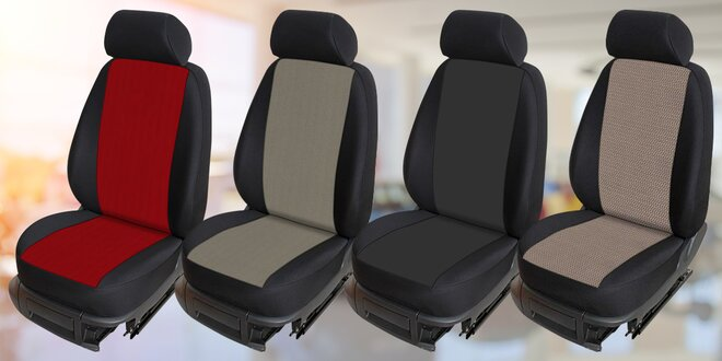 Pratelné autopotahy ve 4 barvách pro vozy Škoda