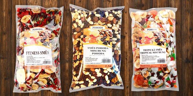 Vyladěné směsi ořechů, semínek a ovoce Pohoda