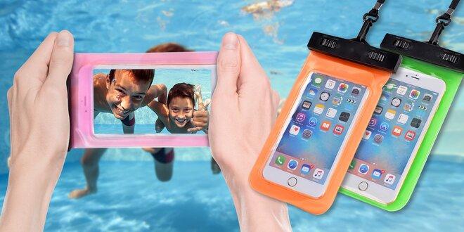 Vodotěsné pouzdro na mobil a jiné cennosti