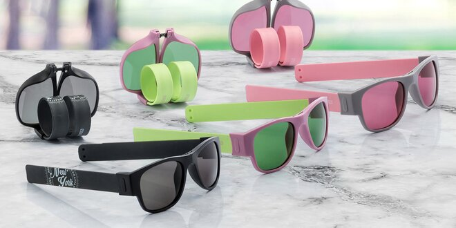 Odolné skládací brýle proti slunci Sunfold