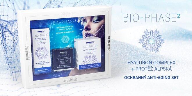 Dárková kazeta BIO-PHASE2®: hyaluron a protěž alpská