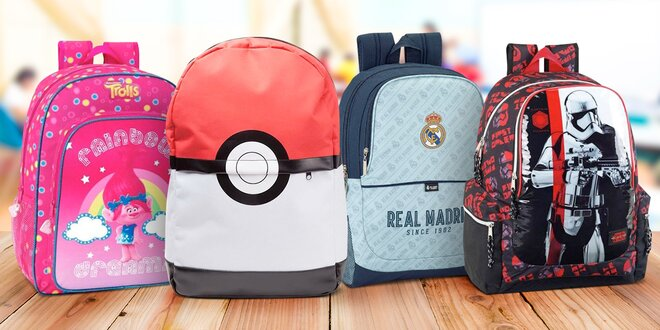 Školní batohy: Avengers, Pokémon i Spiderman