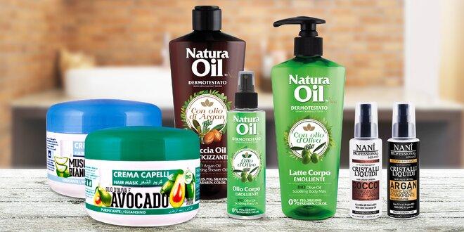 Italská bio kosmetika na vlasy i tělo