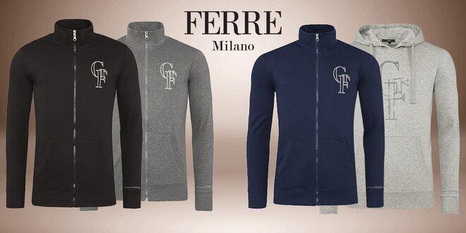 Pánské mikiny na zip nebo s kapucí Gianfranco Ferré