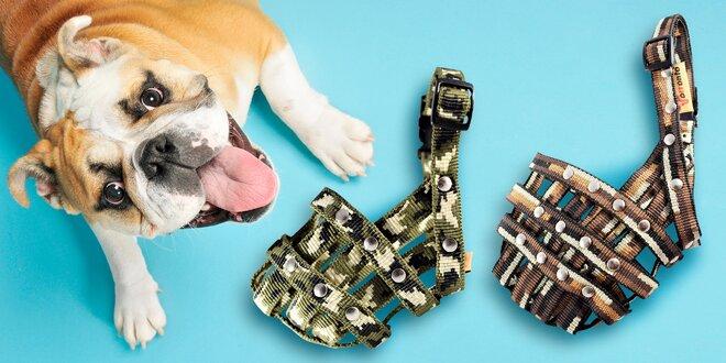 Nylonové náhubky pro malé i velké psy: 2 barvy
