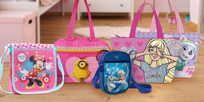 3c1f6949177 Dětské tašky a kabelky s oblíbenými postavičkami