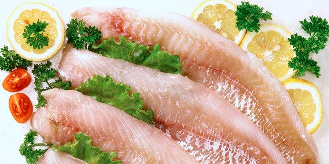 1 kg filetů z tresky tmavé: 100% maso bez chemie