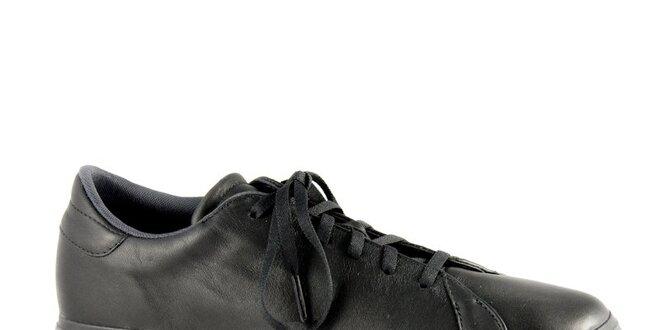 a889c6167 Pánské černé kožené tenisky Adidas | Slevomat.cz