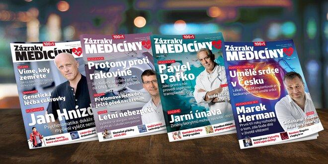 Časopis 100+1 Zázraky medicíny - ročník 2018