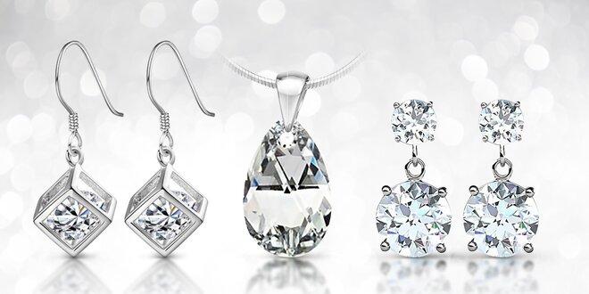 Ocelové šperky s krystaly Swarovski Elements  a11fc49500c