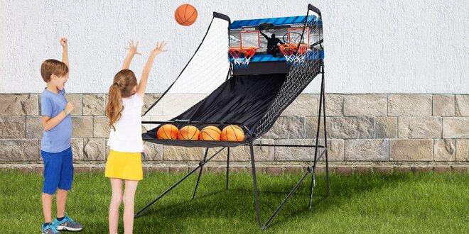 Elektronická basket hra až pro 4 hráče