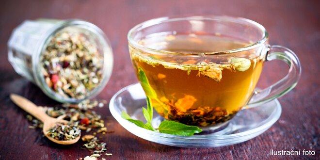 28 dávek bylinných čajů na detoxikaci a hubnutí