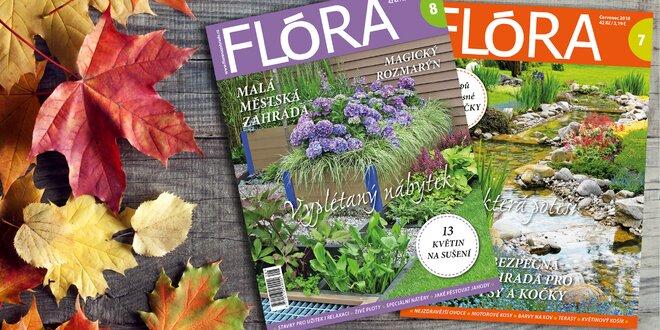 Roční předplatné časopisu Flóra na rok 2019