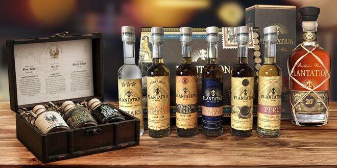 Dárkový set rumů i láhev z limitované edice