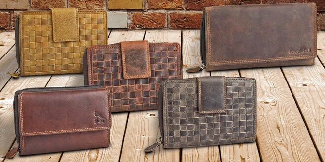 Dámské elegantní kožené peněženky: 4 druhy
