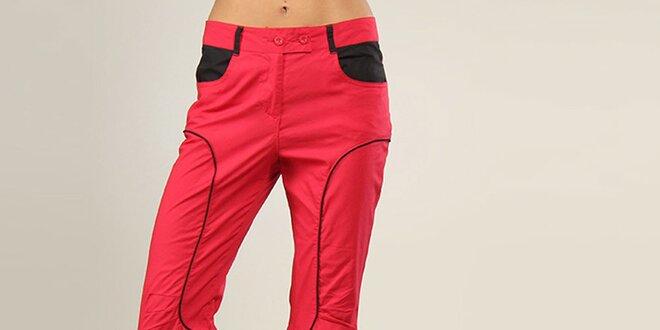 c0d8eb9cb19 Dámské růžové sportovní kalhoty Coline