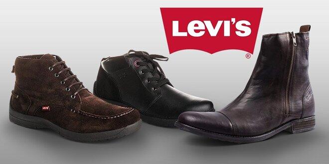 281d67123656 Pánské kotníkové boty Levi s na podzim i zimu