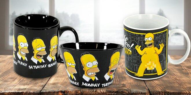 Simpsonovi: Hrnky, plyšáci nebo třeba papuče